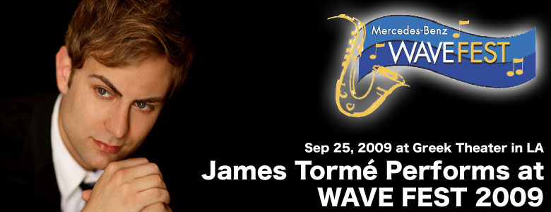 James Torme at Wave Fest 2009